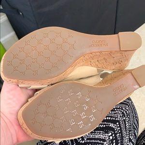Franco Sarto Shoes - Nude wedges